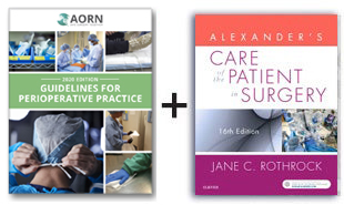 AORN Guidelines for Perioperative Practice - 2020 Edition and Alexander's Care of the Patient in Surgery Textbook